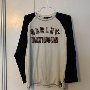 Harley Davidson men's long sleeve shirt